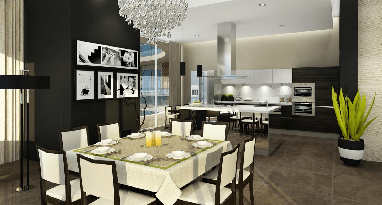 Kitchen Area, Sky Apartments - Medina Tower