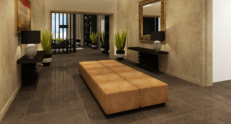 Entrance hallway , Sky Apartments - Medina Tower