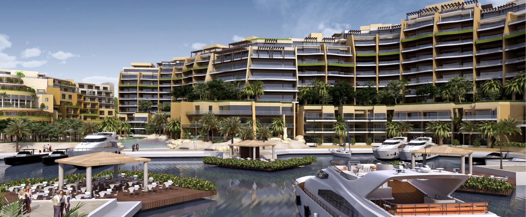 Marina & Apartments – Palm Waterfront