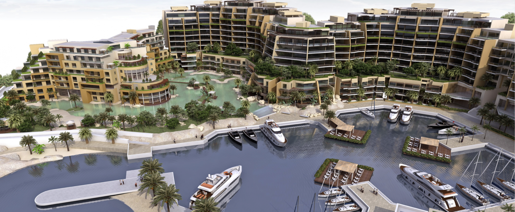 Aerial View – Palm Waterfront