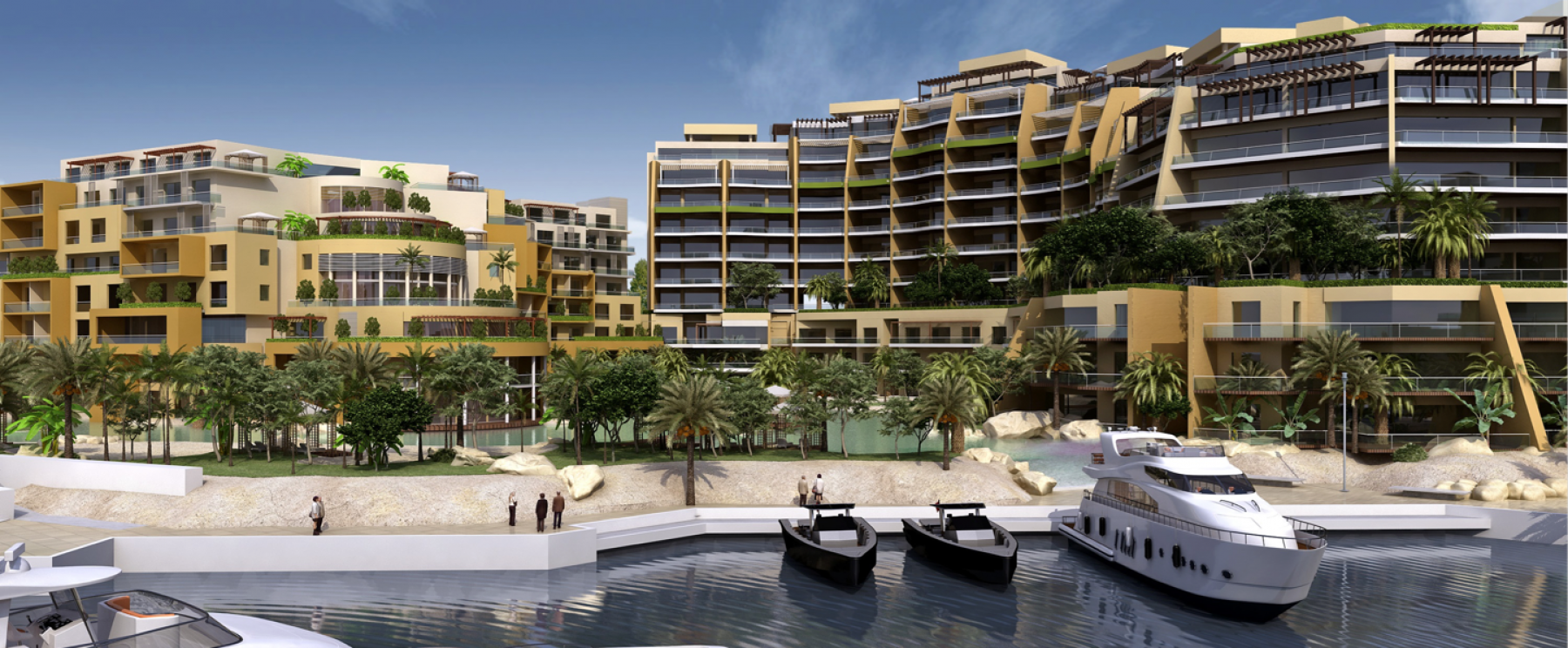 Hotel & Apartments – Palm Waterfront