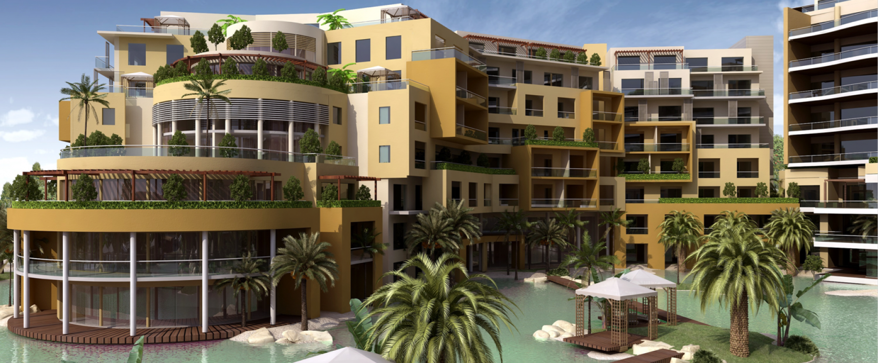 Hotel & Lagoon – Palm Waterfront