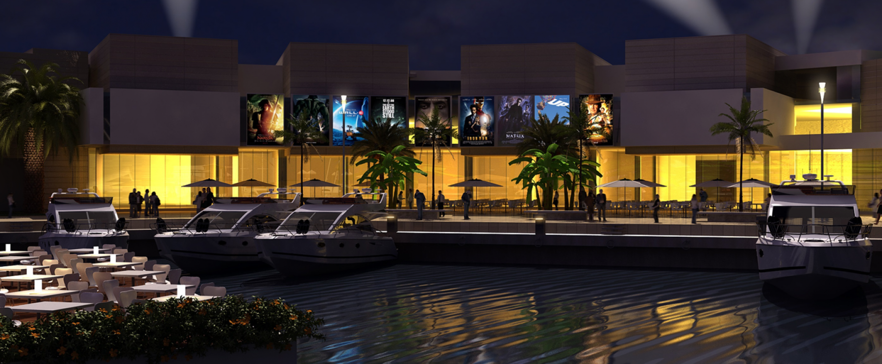 Cinemas – Palm Waterfront